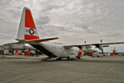 C130 Prints - Coast Guard Alaska Print by Rick  Monyahan
