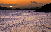 Puerto Rico Photo Prints - Coast Guard Beach Sunset Print by Thomas R Fletcher