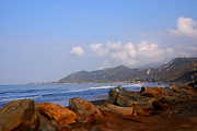Big Sur Photos - Coast Line California by Susanne Van Hulst