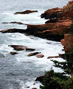 Coast Of Maine Print by Kathleen Struckle