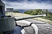 Greys Posters - Coastal Defence Poster by Chris Cardwell