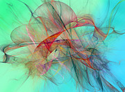 Kite Digital Art - Coastal Kite by East Coast Barrier Islands Betsy A Cutler
