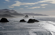 Randall Brewer Prints - Coastal Mist Print by Randall Brewer