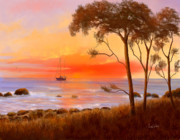 Beach Scenes Digital Art - Coastal Paradise by Sena Wilson