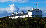 Coastguard Photo Framed Prints - Coastguard Cottages Dunwich Heath Suffolk Framed Print by Darren Burroughs