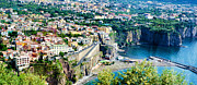 Southern Italy Framed Prints - Coastline of Southern Italy Framed Print by Jon Berghoff