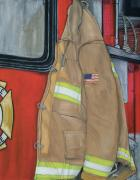 Firefighter Originals - Coat of Courage U.S. by Bobbi Whelan