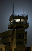 Air Traffic Control Prints - Cob Speicher Control Tower Print by Terry Moore