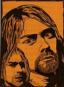 Seattle Mixed Media Prints - Cobain Print by Jason Kasper