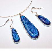 Handcrafted Jewelry - Cobalt Drops by Kelly DuPrat