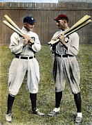 Shoeless Joe Framed Prints - Cobb & Jackson, 1913 Framed Print by Granger