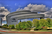 Photographers College Park Posters - Cobb Energy Center Poster by Corky Willis Atlanta Photography