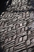 Manhattan Greeting Cards - Cobble Stone Walk by Henri Irizarri