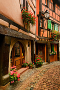 Alsace Originals - Cobble Stoned Street by John Galbo
