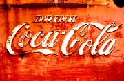 Amy Sorrell Art - Coca Cola by Amy Sorrell