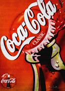 Coca Cola Classic Print by Bob Orsillo