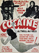 Cocaine Posters - COCAINE MOVIE POSTER, 1940s Poster by Granger