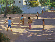 Playing Paintings - Cochin by Andrew Macara