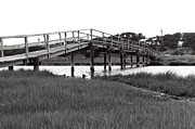 Cockle Prints - Cockle Cove bridge - Cape Cod - K Print by Wayne Sheeler