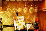 Kitchen Interior Posters - Cocktail Hour Poster by Peter  McIntosh