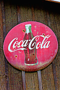 Signage Framed Prints - Coco Cola sign Framed Print by Garry Gay