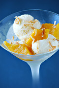 Mango Metal Prints - Coconut Gelato Metal Print by HD Connelly