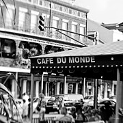 Lensbaby Photography Framed Prints - Coffee and Beignets Framed Print by Scott Pellegrin