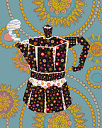 Italian Kitchen Digital Art Posters - Coffee anyone Poster by Naomi Broudo