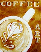 Terry DeMars - Coffee Art