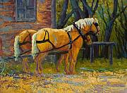 Marion Rose - Coffee Break - Draft Horse Team