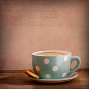 Coffee Cup Prints - Coffee Break Print by Ian Barber