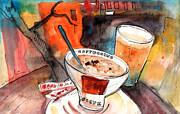 Miki De Goodaboom - Coffee Break in Archanes in Crete