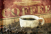 Brown Toned Art Photos - Coffee by Darren Fisher