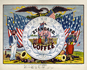 Label Prints - COFFEE LABEL, c1862 Print by Granger