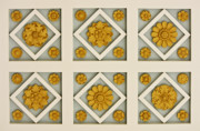 Getty Photos - Coffered Ceiling Detail at Getty Villa by Teresa Mucha