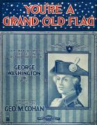 Old Sheet Music Posters - Cohan: Sheet Music, 1906 Poster by Granger
