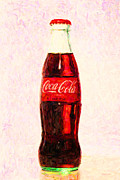 Coke Bottle Prints - Coke Bottle 2 Print by Wingsdomain Art and Photography