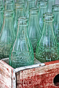 Coke Photos - Coke Bottles by Brian Mollenkopf