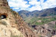 Tunnels Prints - Colca Canyon Print by Paul Pobiak