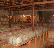 Wine Cellar Photos - Colchagua Valley Wine Barrels by Brett Winn