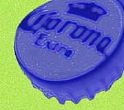 Beer Bottle Cap Art - Cold One by Lindsay Clark