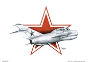 Jet Star Mixed Media - Cold War Relic by Trenton Hill