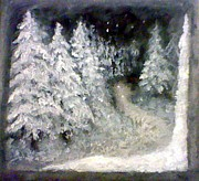 The Trees Mixed Media - Colder Weather by Crystal McKinley