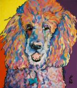 Dog Portrait Pastels - Cole by Pat Saunders-White