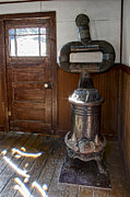 Stove Photos - Coles Hot Blast Stove - Molson Ghost Town by Daniel Hagerman