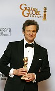 Award Prints - Colin Firth In The Press Room For The Print by Everett