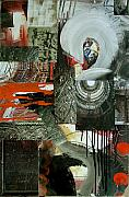 News Mixed Media - Collage 10  25x38 by Annette Labedzki