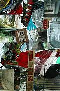 News Mixed Media - Collage 11  20x30 by Annette Labedzki