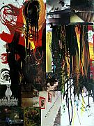 News Mixed Media - Collage 6 30x40 in by Annette Labedzki