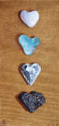 Heart Stone Art - Collection by Elena Kolotusha